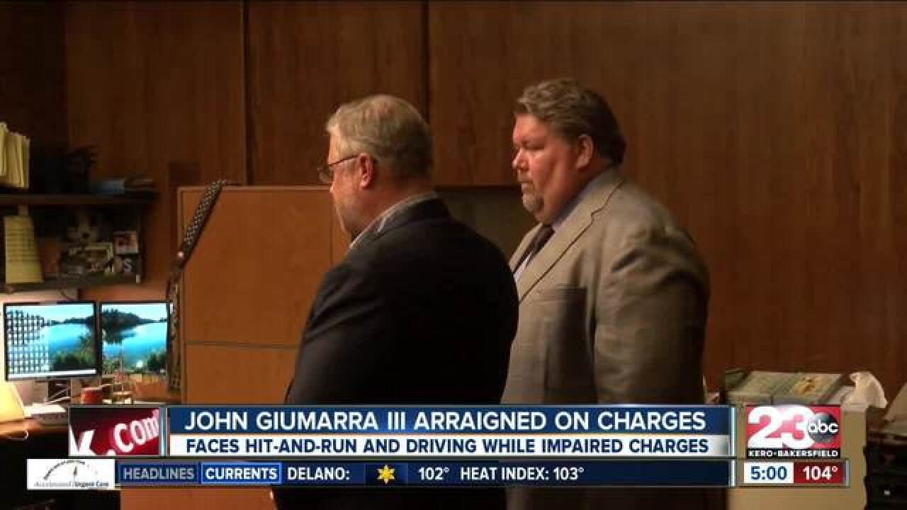Guimarra in court July 17th