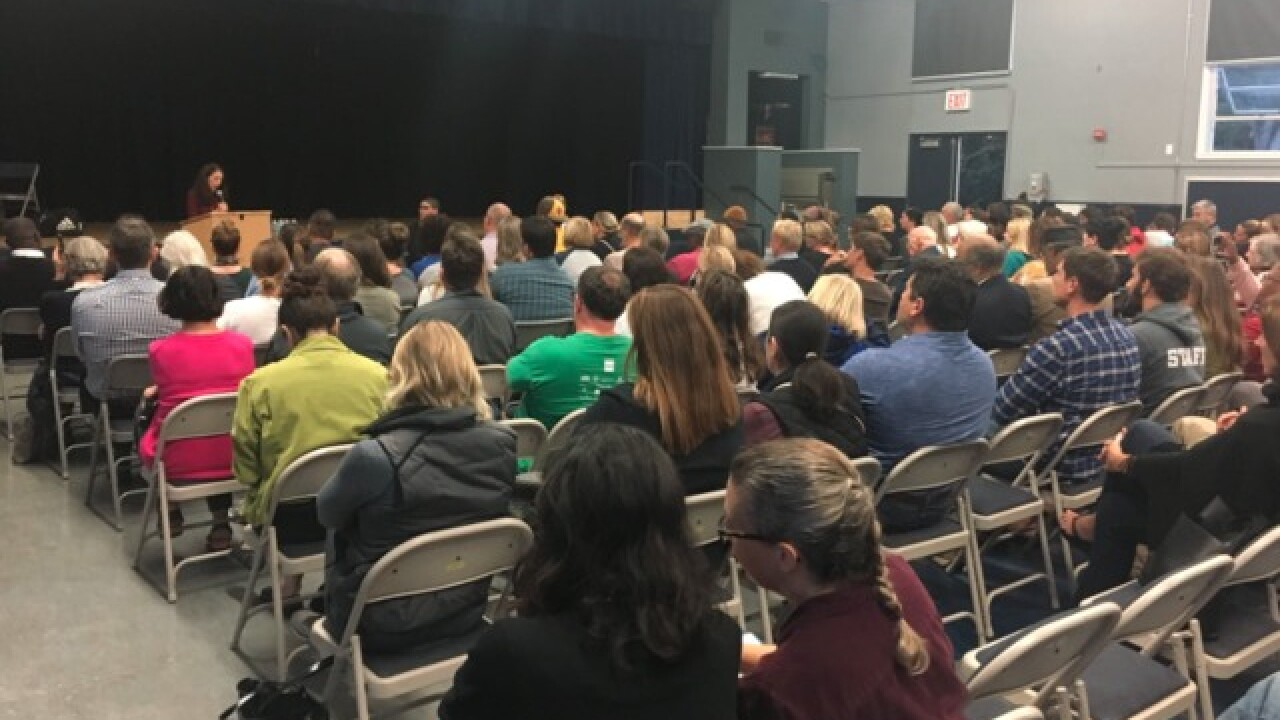 School holds meeting after controversial email