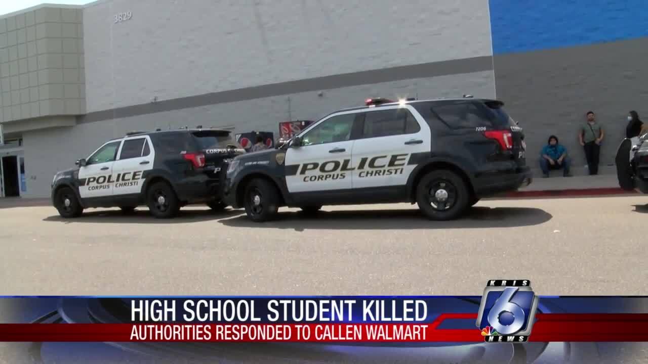 Stabbing at Walmart in Calallen