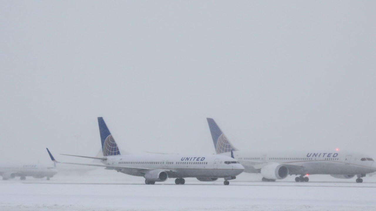 Flight cancellations begin at DIA