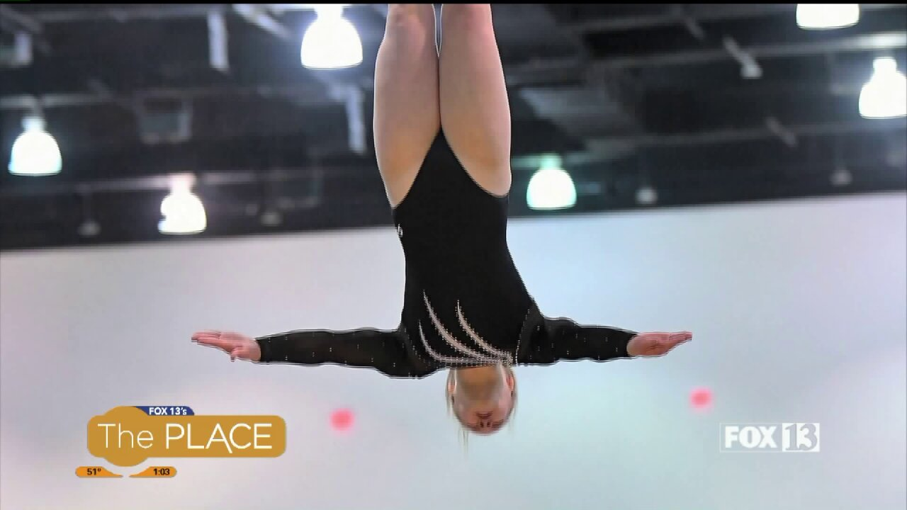 This Utah Tumbler is Representing the United States at Upcoming World Competition at Fifteen YearsOld