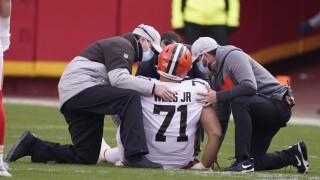 Jedrick Wills injury
