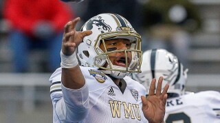 Eleby's six touchdowns help Western Michigan hold off Central Michigan