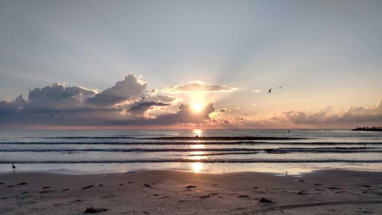 Whitecap Beach Sunrise - Photo By: FB Coastal Bend Weather Watcher Belinda Barragan