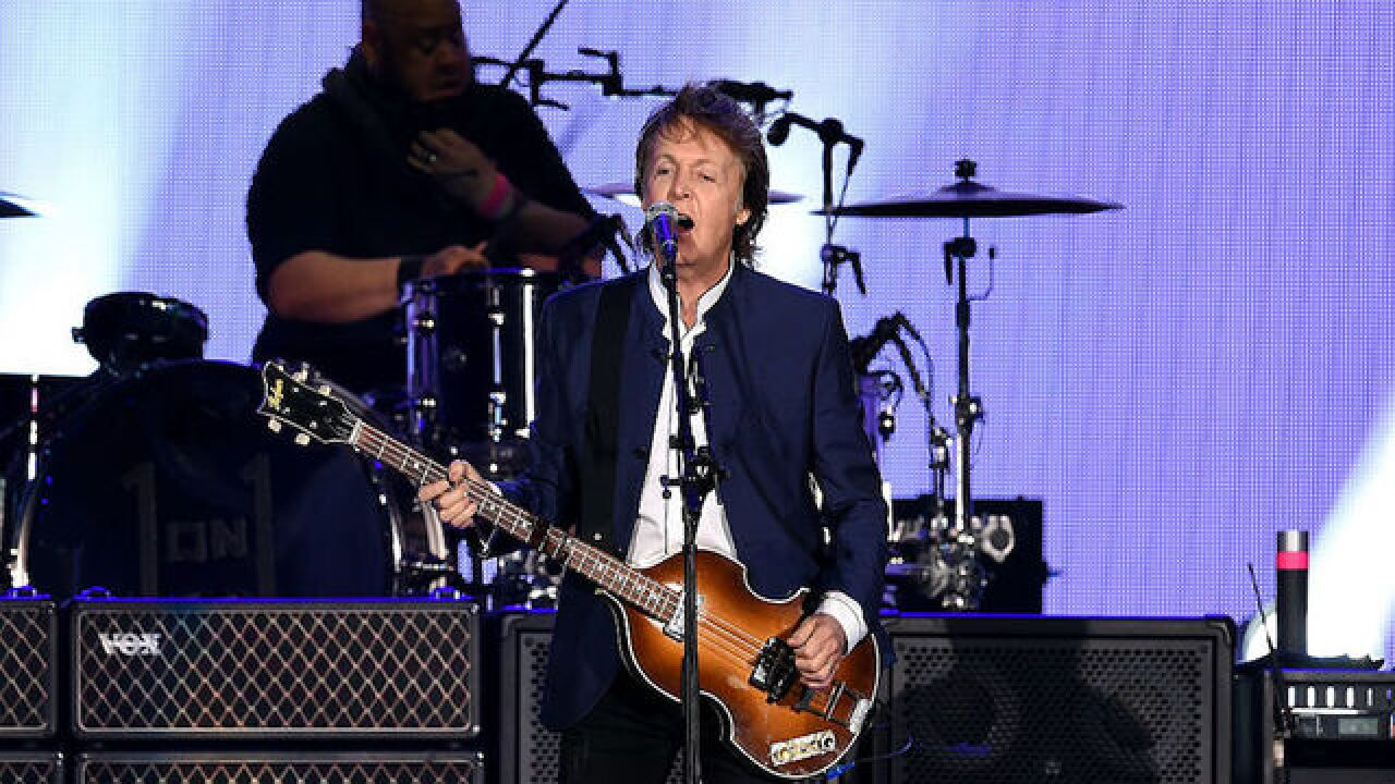 Paul McCartney sues to get Beatles songs back from Sony