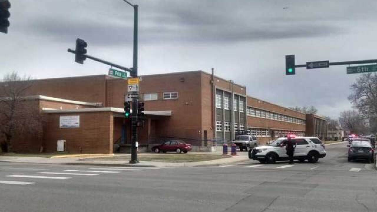 Denver Center for Int'l Studies on lockdown