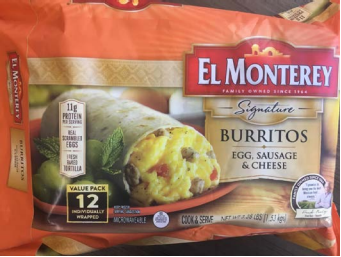 Photos: Company recalls frozen sausage breakfast burrito products due to possible foreign mattercontamination