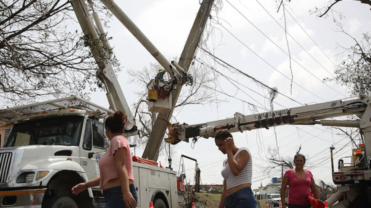 Power company in Puerto Rico getting $309 per hour per journeyman