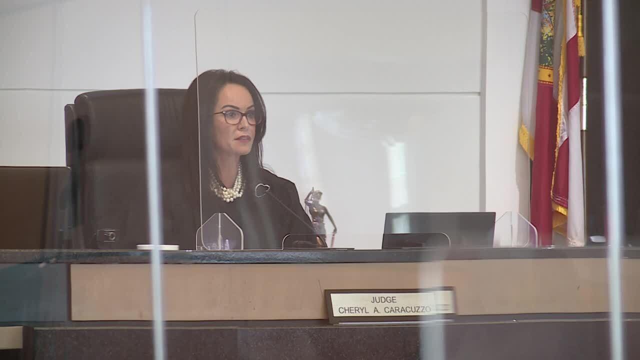 Palm Beach County Judge Cheryl Caracuzzo sentences Marlin Joseph to death, Nov. 19, 2020