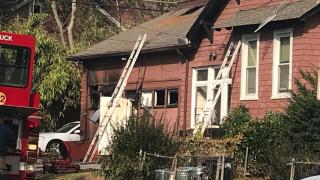 Edmondson Avenue house fire