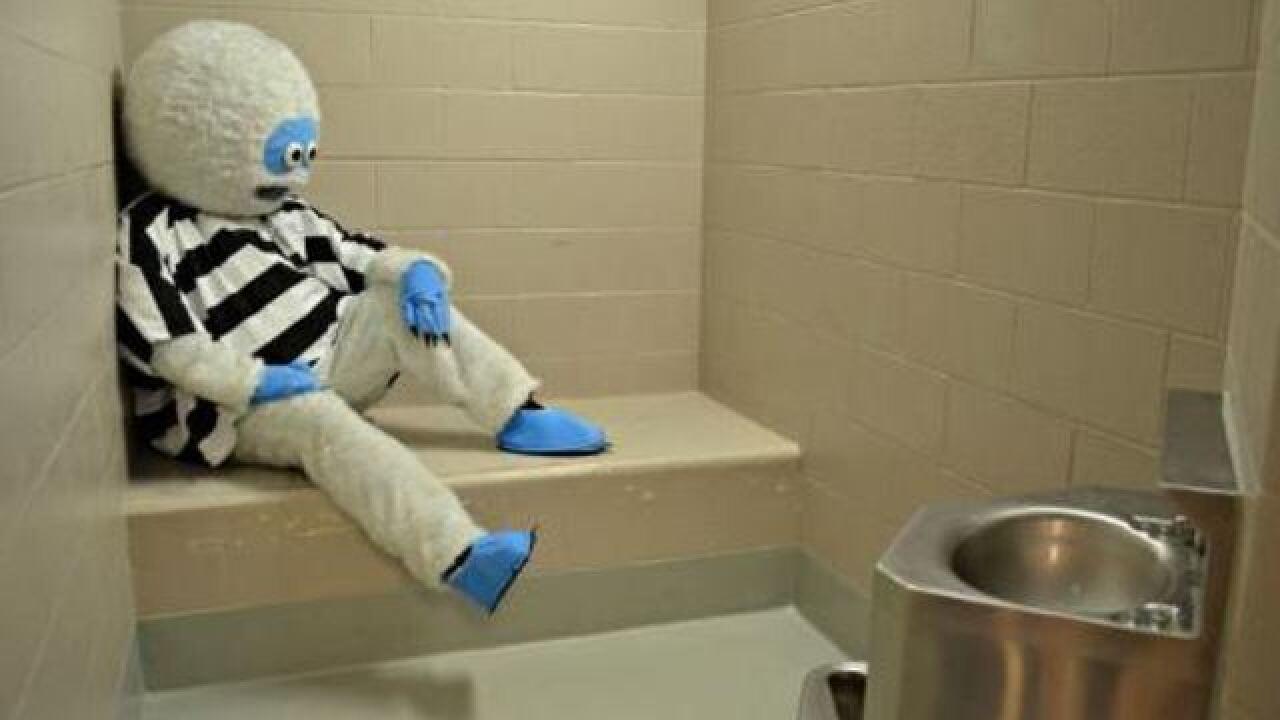 Oregon police 'arrest' Abominable Snowman'