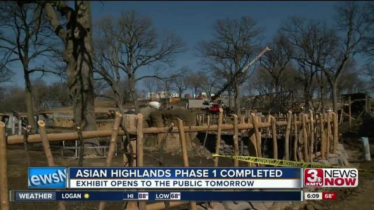 Asian Highlands at Omaha Zoo opens tomorrow