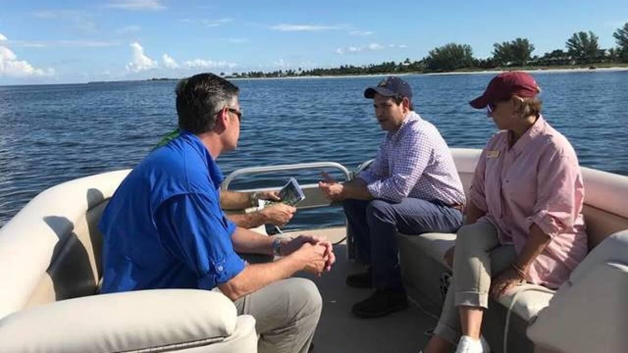 U.S. Senator Macro Rubio tours SWFL water crisis