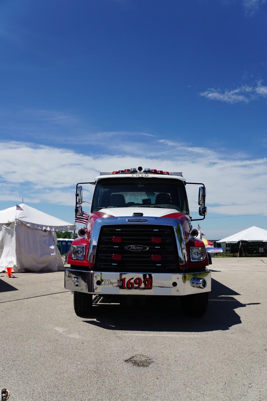 Waukesha County Fair goers try to beat the heat