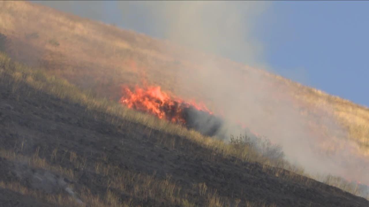 Mount Sentinel fire