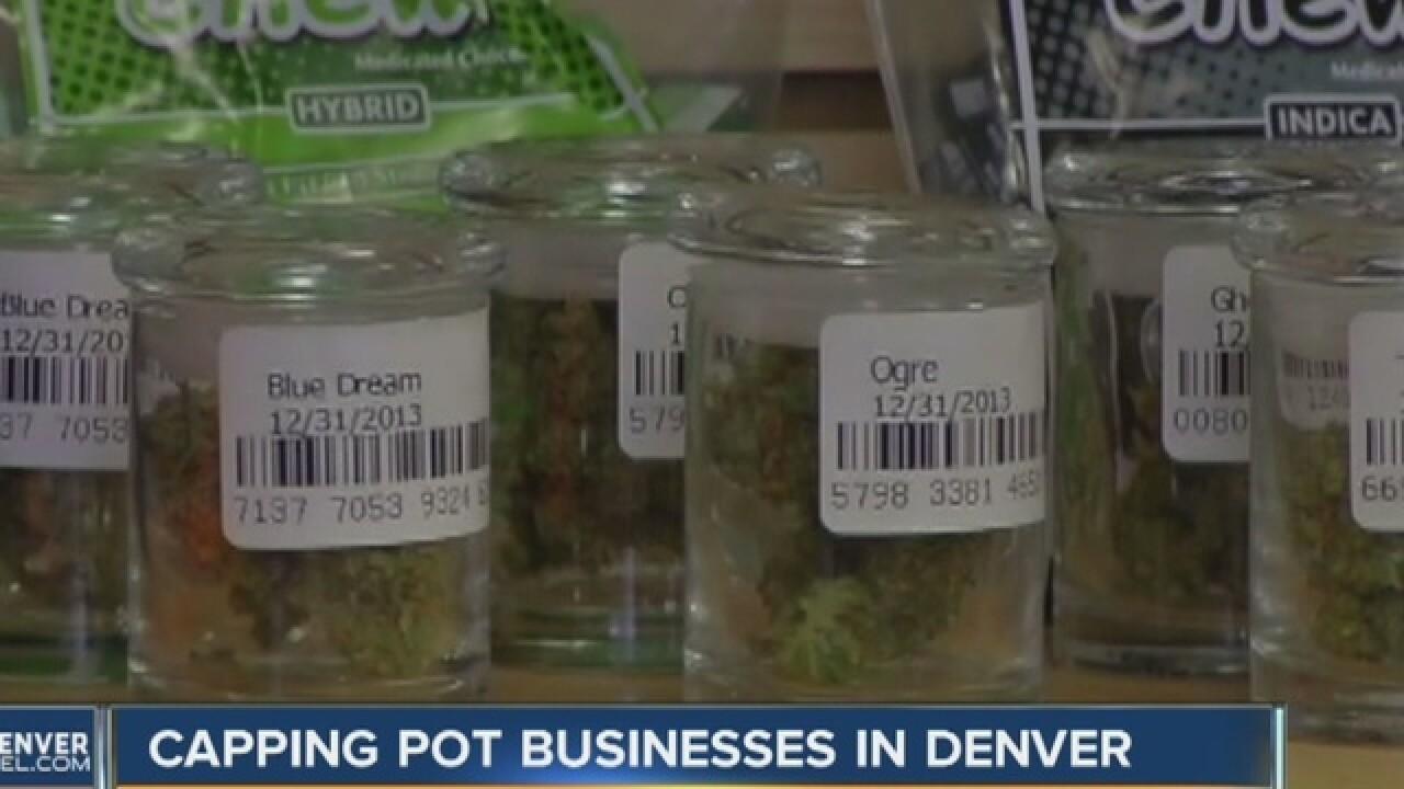 Denver considers location cap on pot shops
