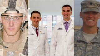 From the battlefield to the ER, these brothers continue their mother's legacy: 'She was a warrior'