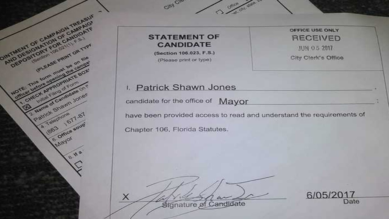 Heavy metal DJ runs for Lakeland Mayor
