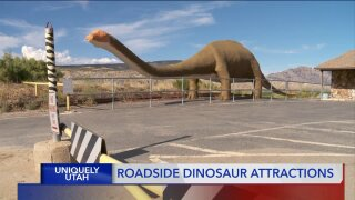 Uniquely Utah: Roadside dinosaur attractions