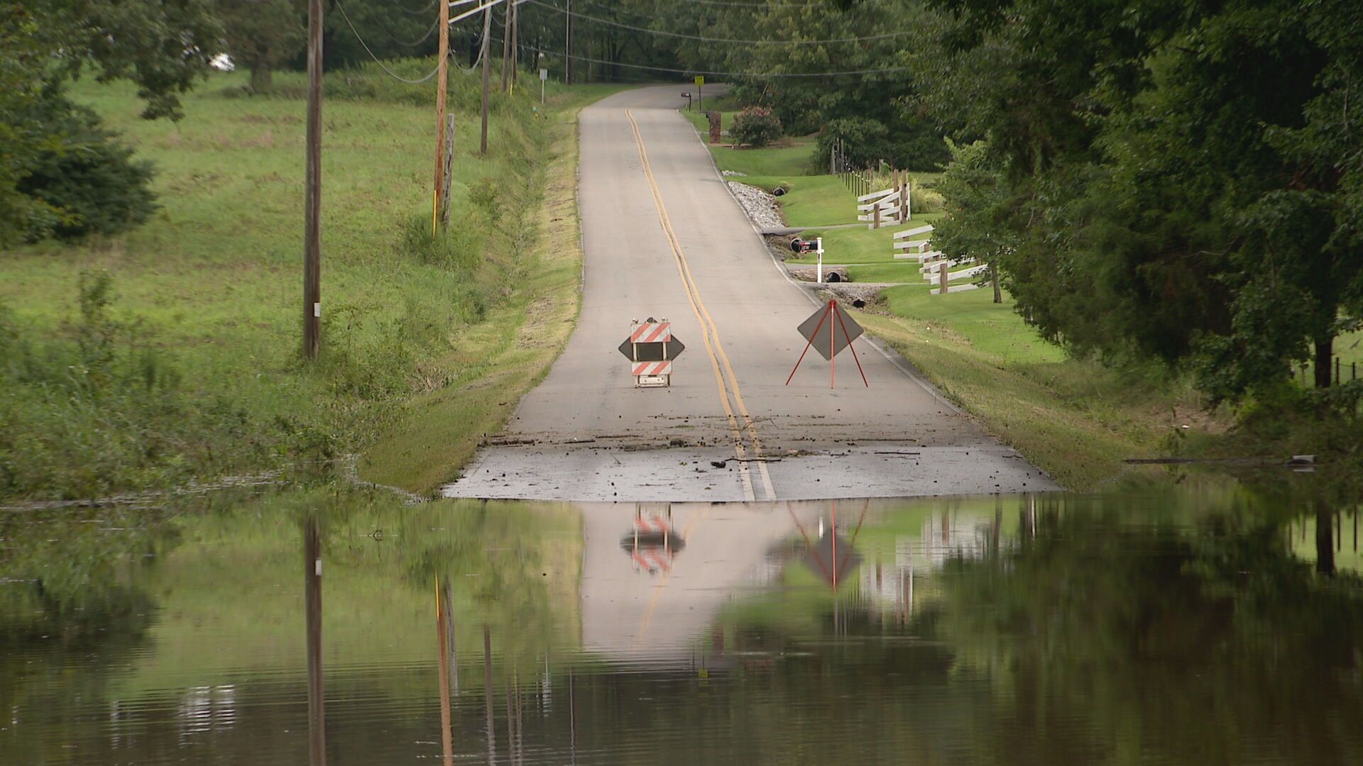 Dickson flooding august 2021