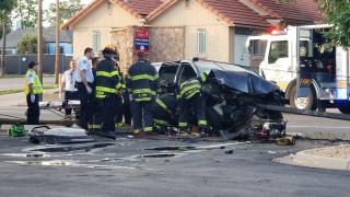Car crash July 1 2019 Denver