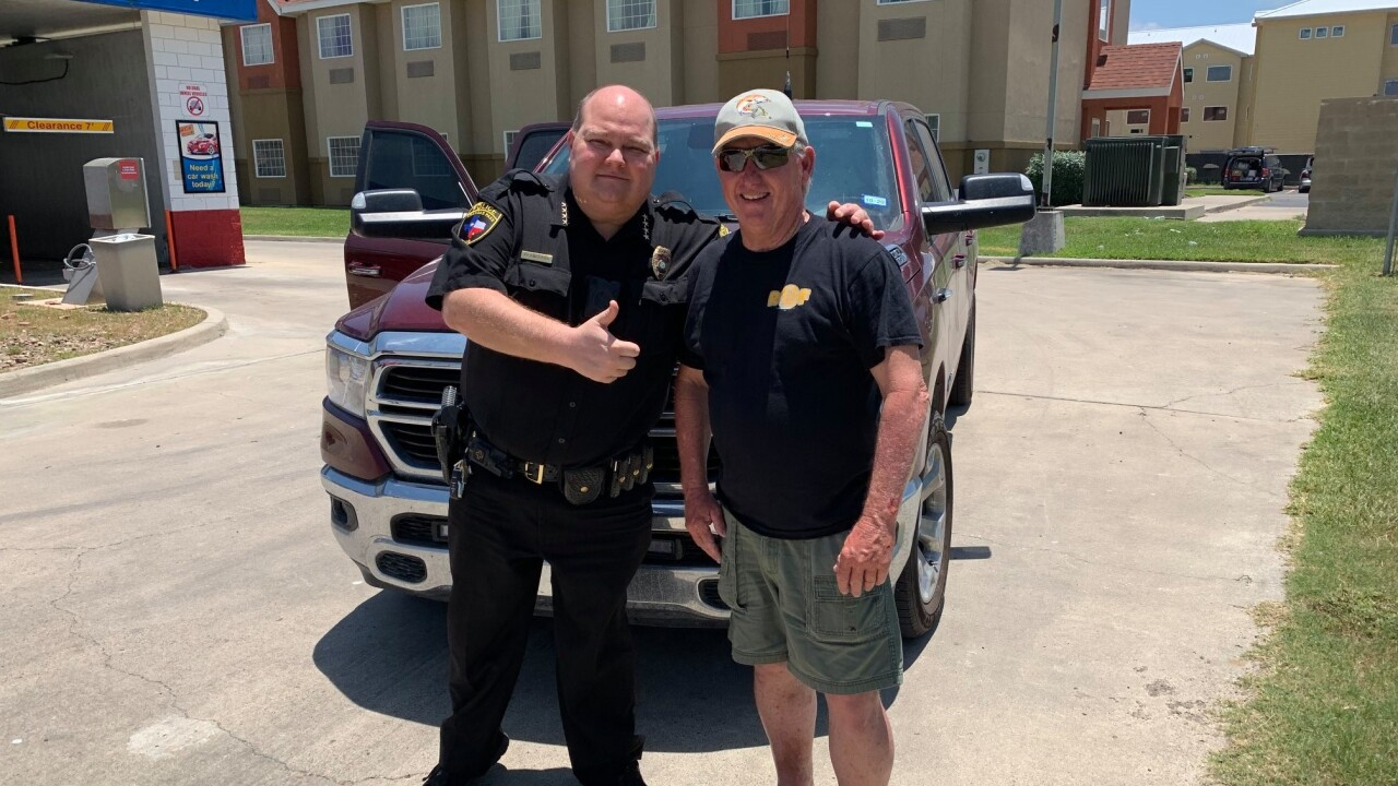 Aransas Pass Police Chief thanks Good Samaritan
