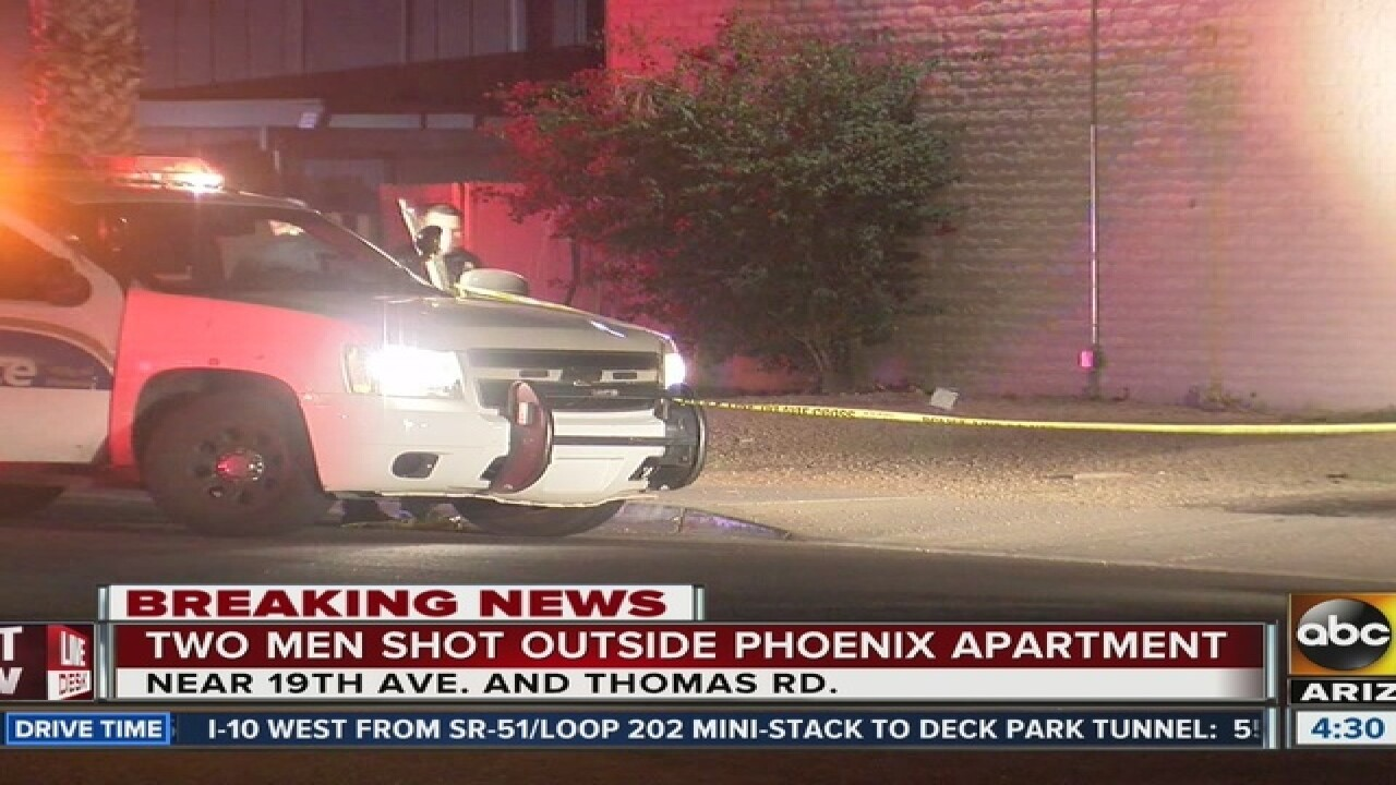 One person shot, killed near 19th Ave/Thomas Rd