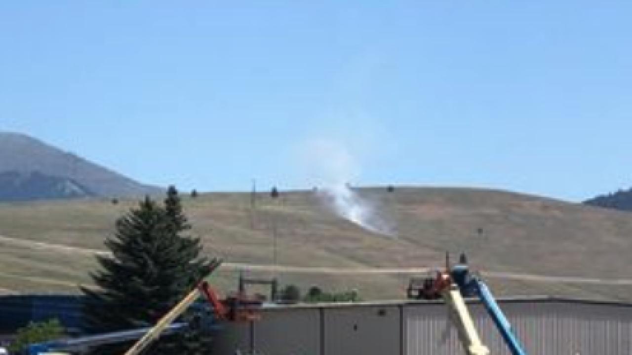 Waterworks Hill Fire