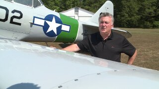 How pool king became ace pilot: 'It's truly an honor to fly these airplanes'