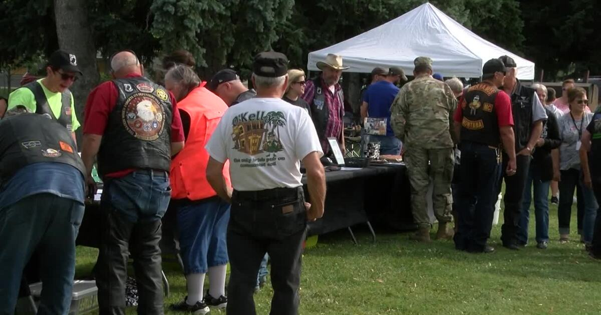 More than 100 bikers raise awareness and honor Montana's POW/MIAs