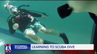 Baby boomers embracing oxygen tanks – for scubadiving