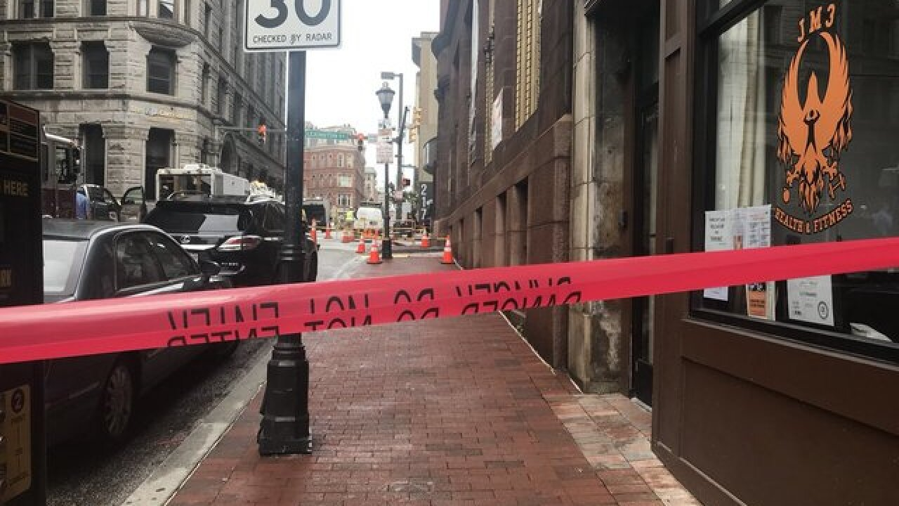 Mysterious green smoke closes some city streets