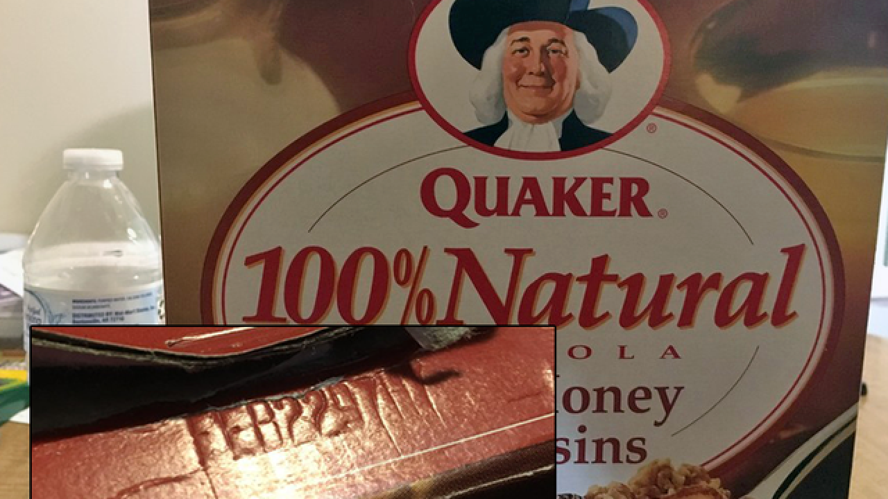 Family buys, eats cereal with 1997 best by date