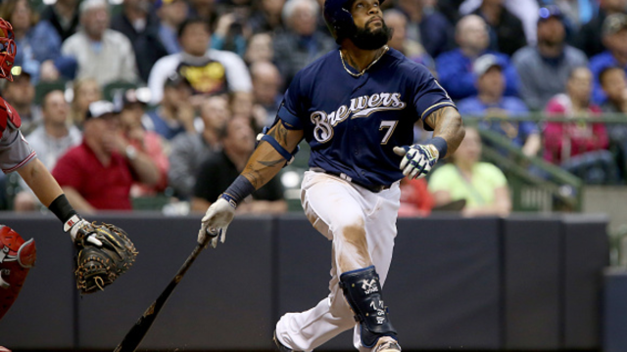 Brewers activate Eric Thames from disabled list