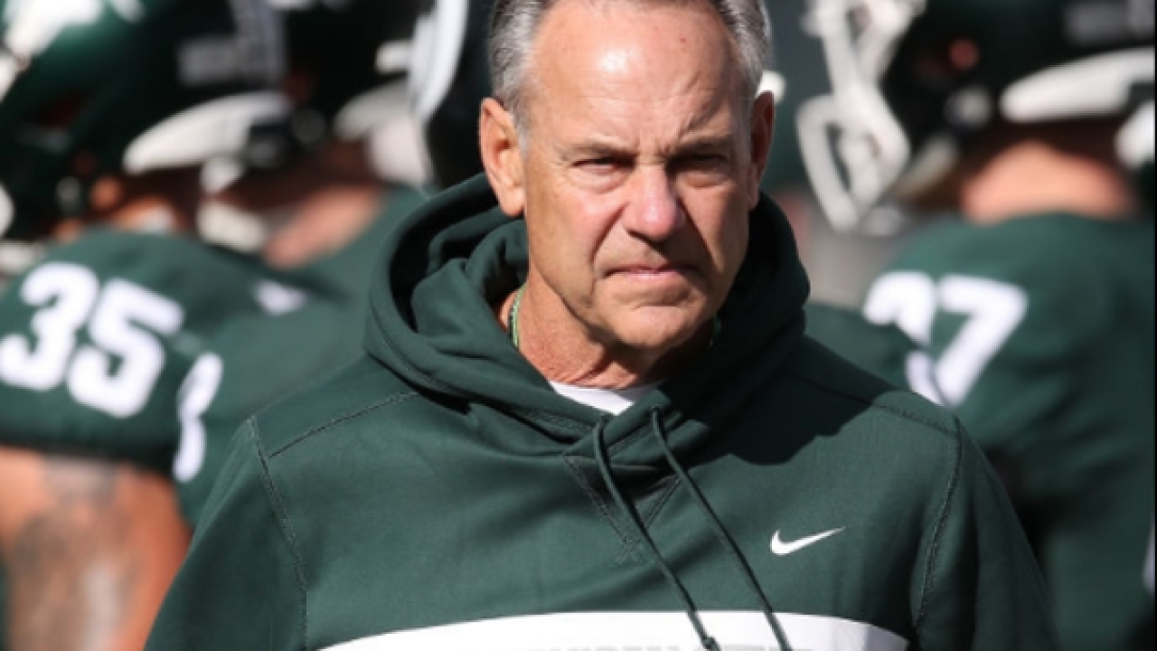 Michigan State responds to Harbaugh's comments about pregame