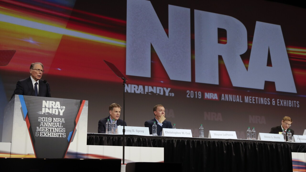 NY attorney general files lawsuit in attempt to dissolve NRA