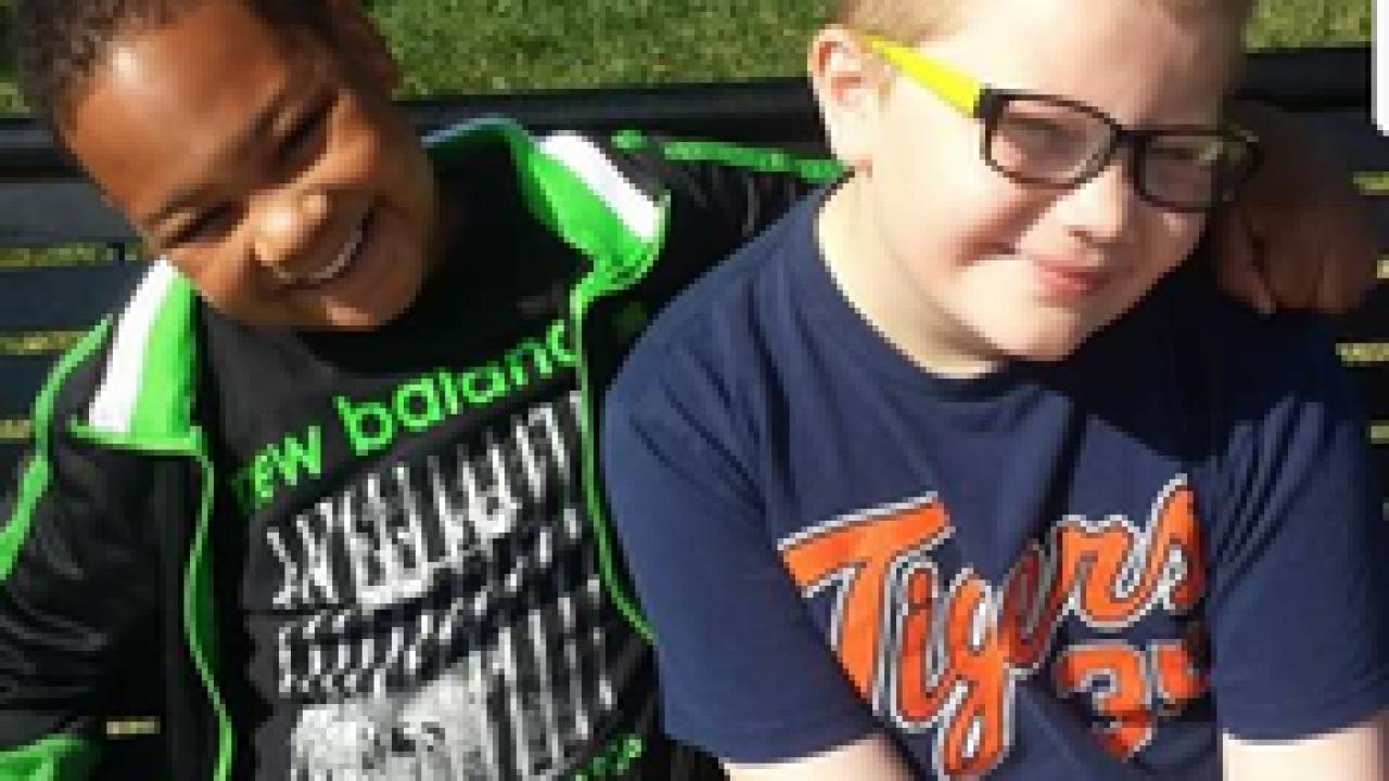 12 y.o. boy raises money for friend's gravestone
