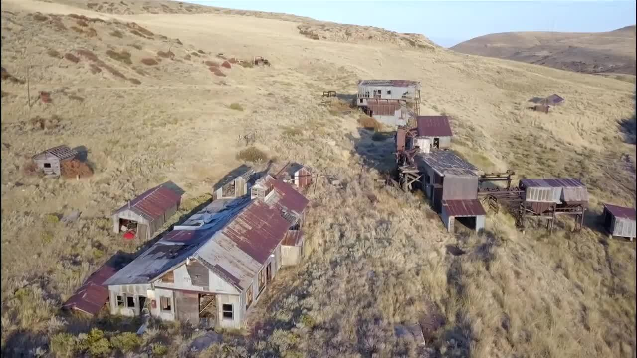 Smith Mine overhead shot