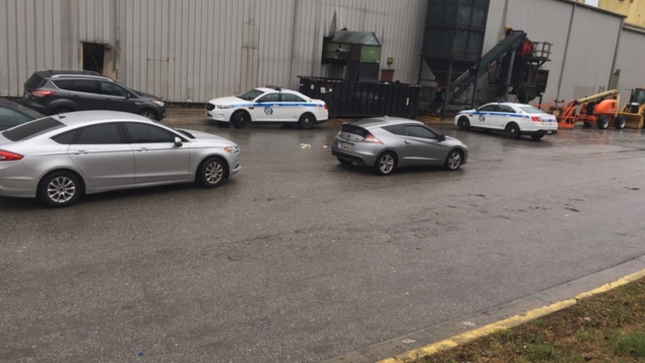 body found at recycling plant