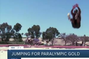 Blind long jumpre going for gold
