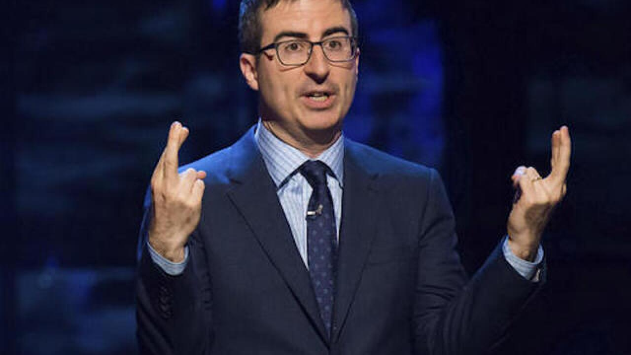 John Oliver slams Trump presidency