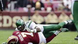 Redskins end touchdown drought in defeat vs. Jets, fall to 1-and-9 onseason