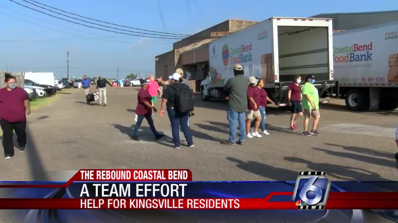A team effort to feed the needy in Kingsville