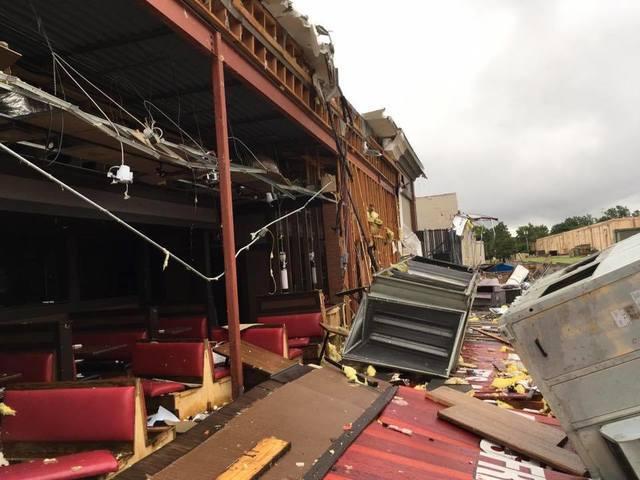 Tornado rips through midtown Tulsa Sunday morning