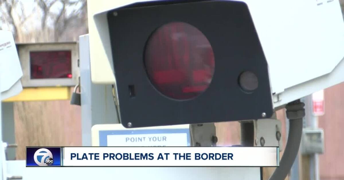 Problems With New Ontario License Plates At The Border