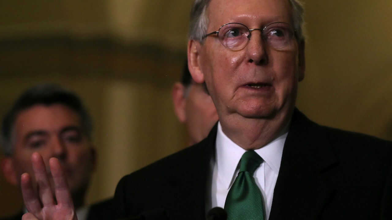 McConnell warns that Trump's tariffs could hurt Kentucky