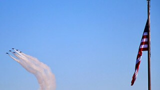 Photos: U.S. Navy Blue Angels fly over Norfolk to honor Naval Station Norfolk's 100thanniversary