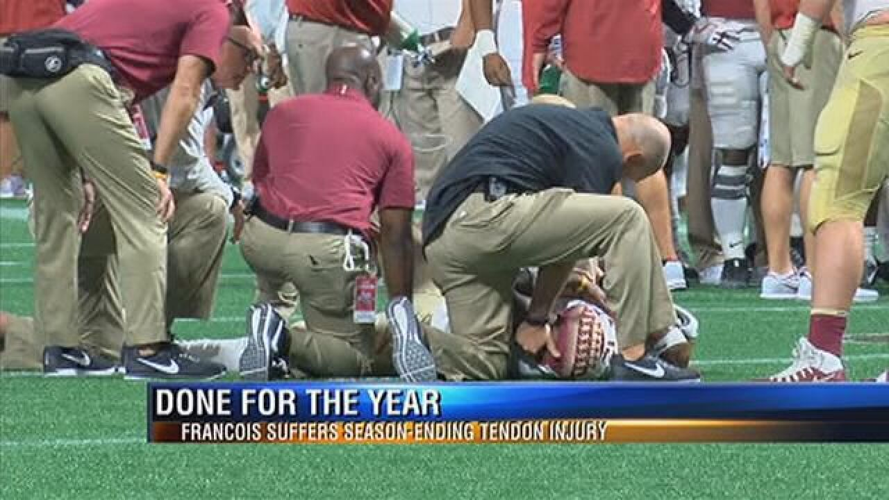 Coach Fisher to address Francois injury 2