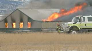 Helena Valley fire destroys building, kills rabbits and chickens