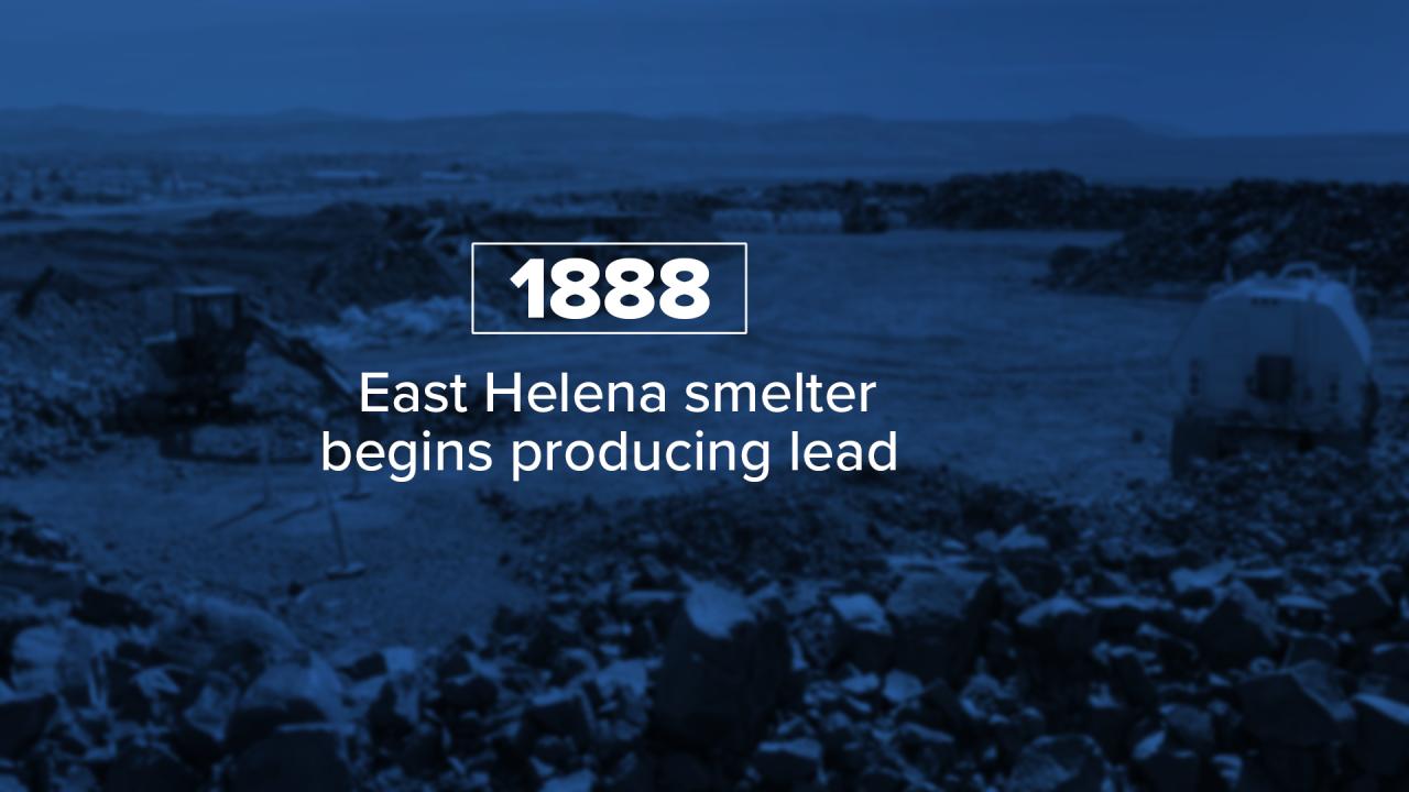 East Helena Smelter 1888
